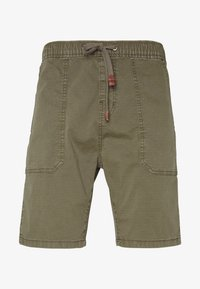 INDICODE JEANS - THISTED - Shorts - dark green - 4