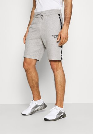 TAPE SHORT - Sports shorts - medium grey heather