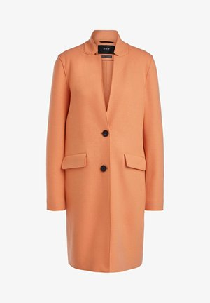 Classic coat - coral gold
