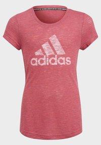 adidas Performance - Camiseta estampada - pink - 2