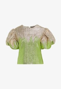 ADDISON BLOUSE - Bluse - green glitter