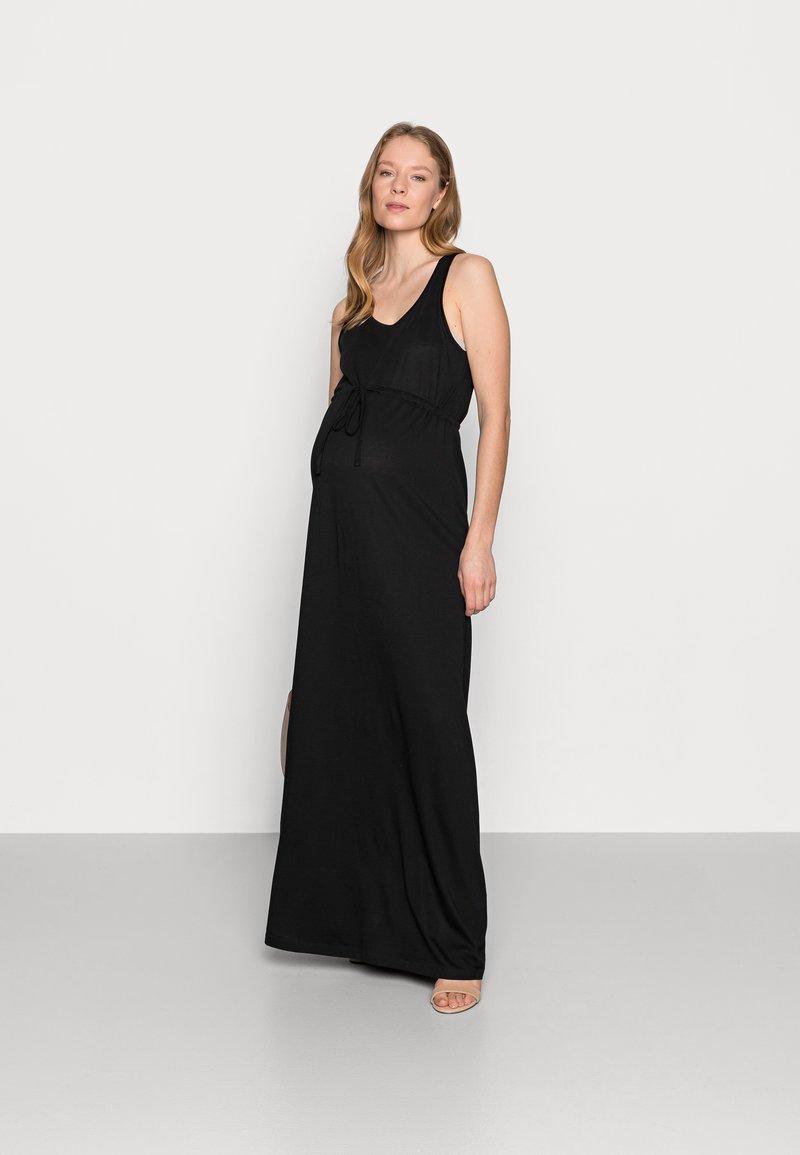 Anna Field MAMA - Maxi dress - black
