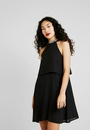 ONLGLORIA SHORT DRESS - Day dress - black