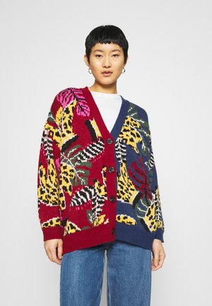 MIXED EMBROIDERED BANANA CARDIGAN - Gilet - multi