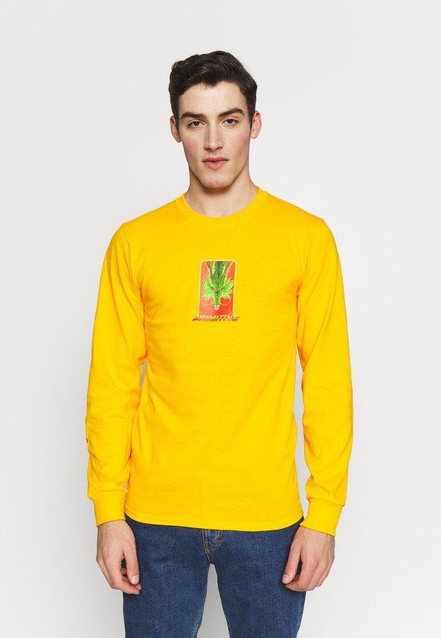 SHENRON WISH DRAGON BALL Z - Bluzka z długim rękawem - gold