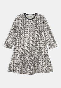 Marimekko - KULTARINTA PIKKUINEN UNIKKO - Jersey dress - black/off white - 0