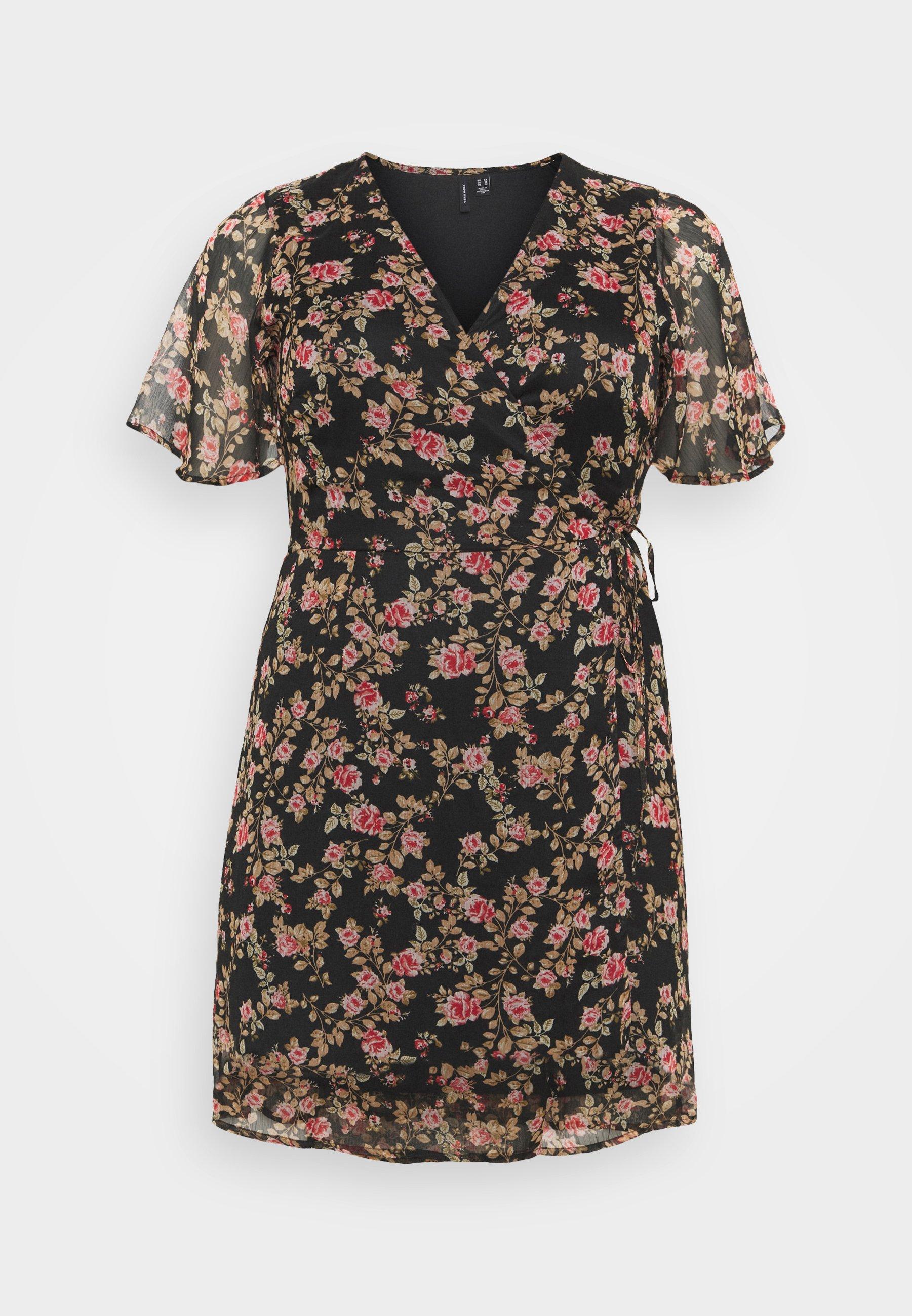 Women VMKAY WRAP DRESS  - Day dress
