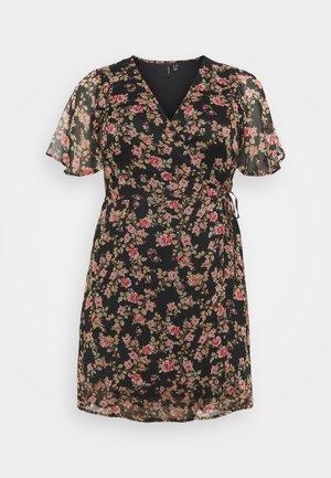 VMKAY WRAP DRESS  - Robe d'été - black