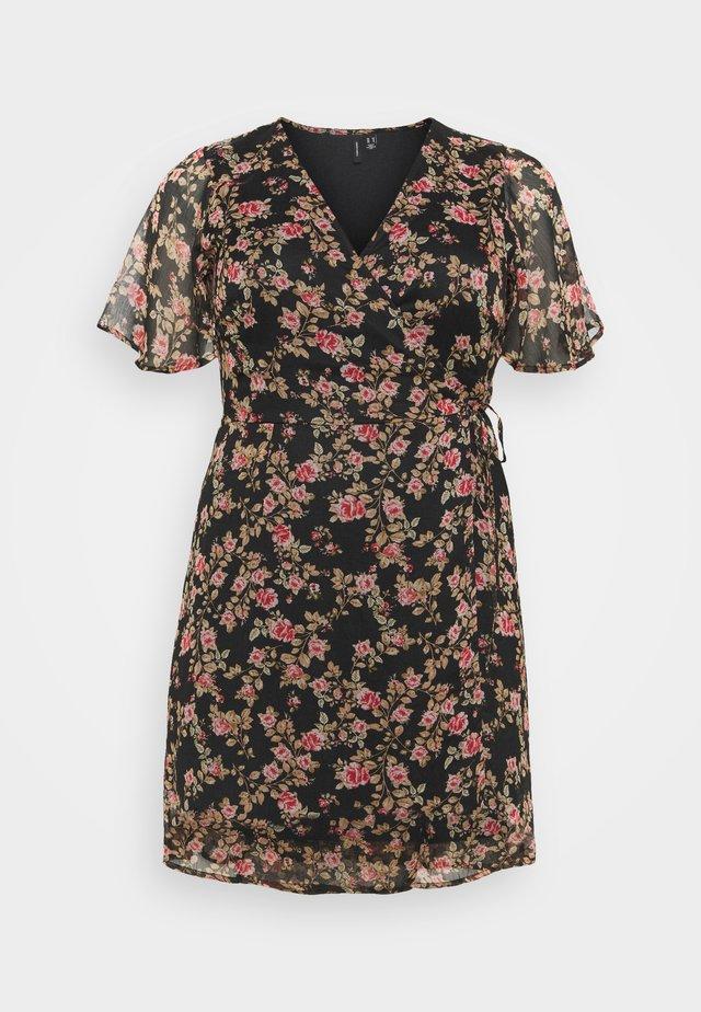 VMKAY WRAP DRESS  - Sukienka letnia - black