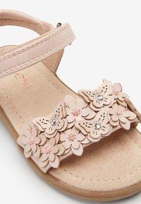 Next - PINK 3D FLOWER SANDALS (YOUNGER) - Outdoorsandalen - pink - 4