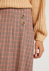 Blendshe - TAMMY - A-line skirt - orange - 4