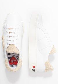Love Moschino - Sneaker low - white - 3