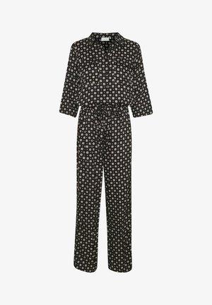 KARUTIE  - Overall / Jumpsuit /Buksedragter - black tie/dot aop