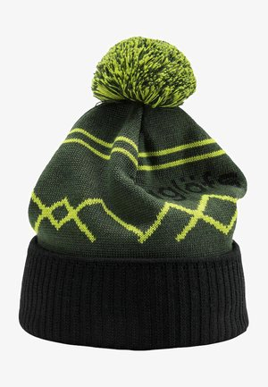 Beanie - fjell green/true black