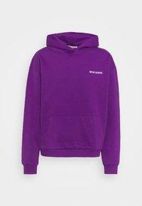 9N1M SENSE - LOGO HOODIE UNISEX - Collegepaita - purple - 4