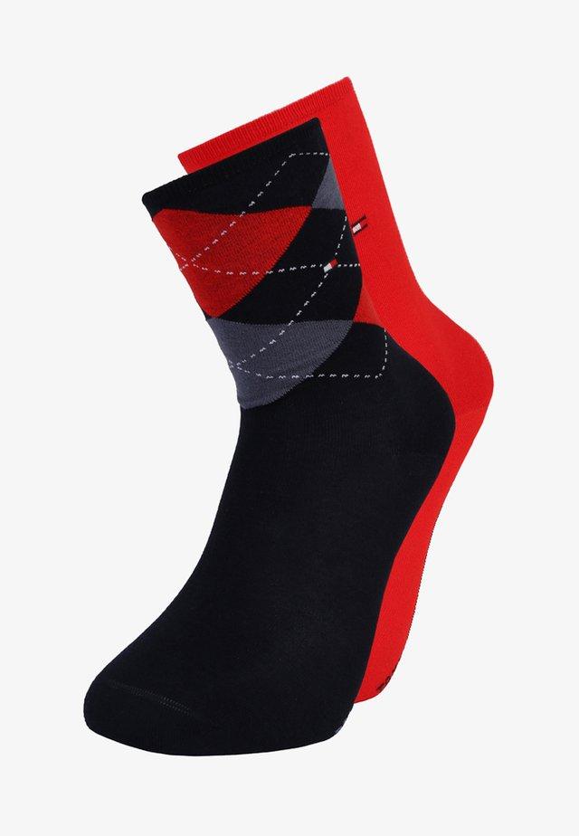 2 PACK - Socks - midnight blue