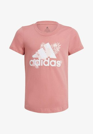 TROPICAL SPORTS GRAPHIC T-SHIRT - T-shirt imprimé - pink