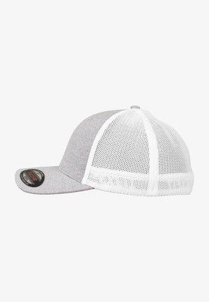 Cap - heather/white
