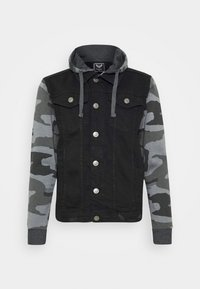 Brave Soul - HUDSONCAMO - Denim jacket - black - 4