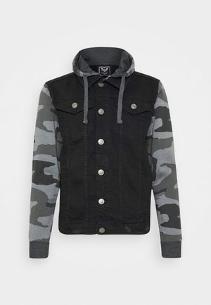 HUDSONCAMO - Denim jacket - black