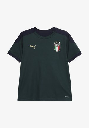 ITALIEN FIGC TRAINING SHIRT - National team wear - ponderosa pine/peacoat