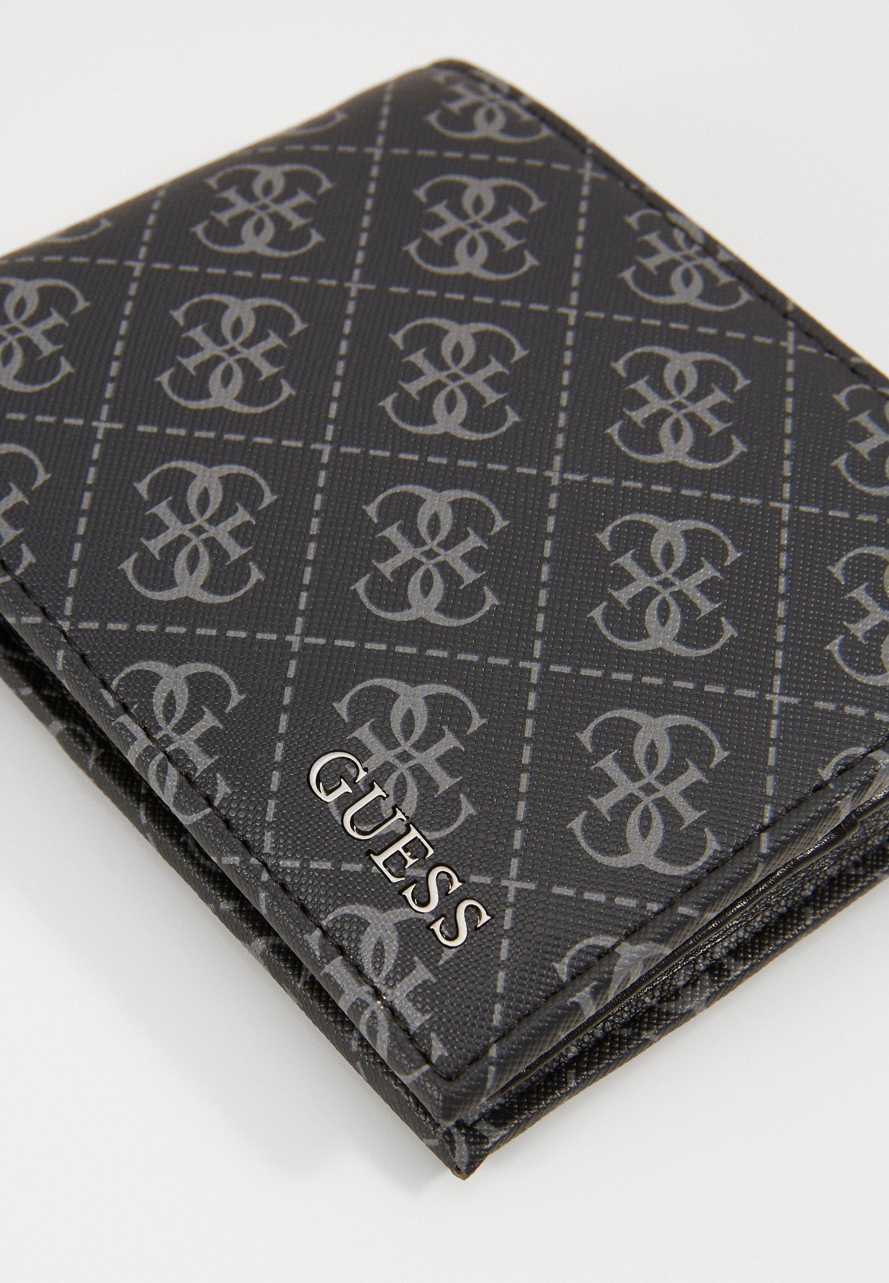 Guess DAN LOGO BILLFOLD - Geldbörse - black/schwarz - Herrentaschen M6D3l