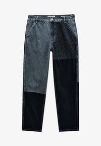 PULL&BEAR - MIT COLOUR-BLOCK - Straight leg -farkut - light grey - 7