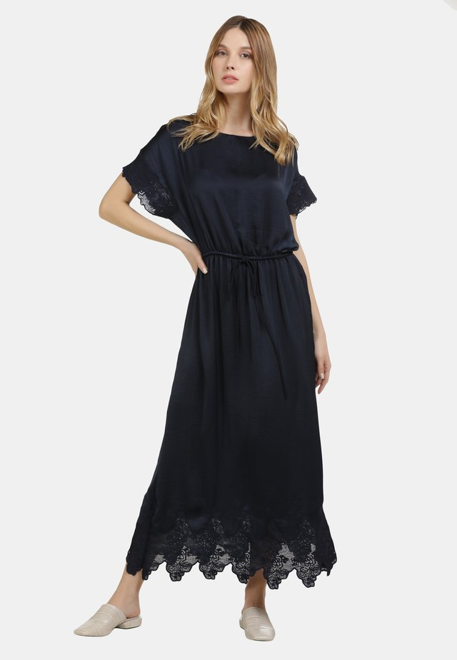 Robe longue - marine