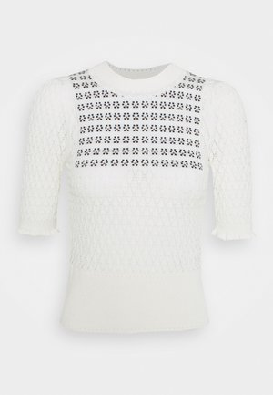 Jumper - white/black