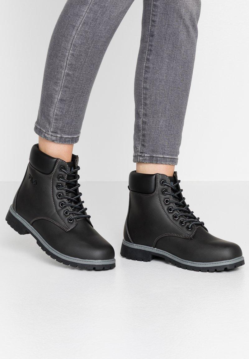 Fila - MAVERICK - Lace-up ankle boots - black
