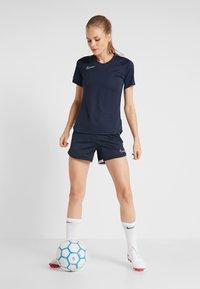 Nike Performance - DRY ACADEMY 19 - T-shirt print - obsidian/white - 1