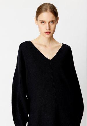 TALLIGZ - Jumper dress - black