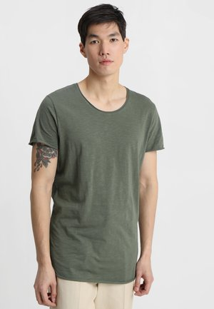 JJEBAS TEE - Basic T-shirt - thyme