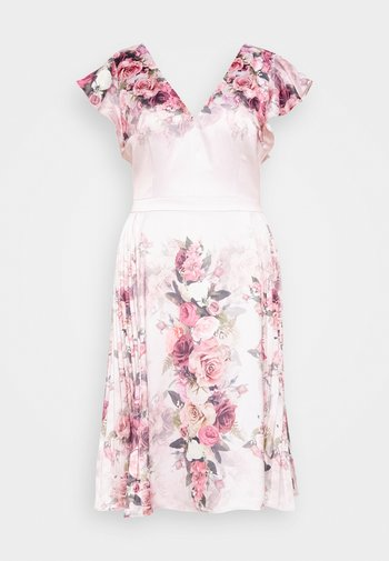 RAENE DRESS - Sukienka koktajlowa - mink