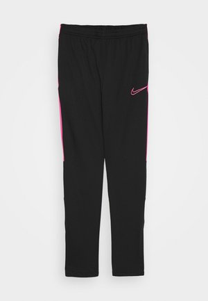 DRY - Tracksuit bottoms - black/hyper pink