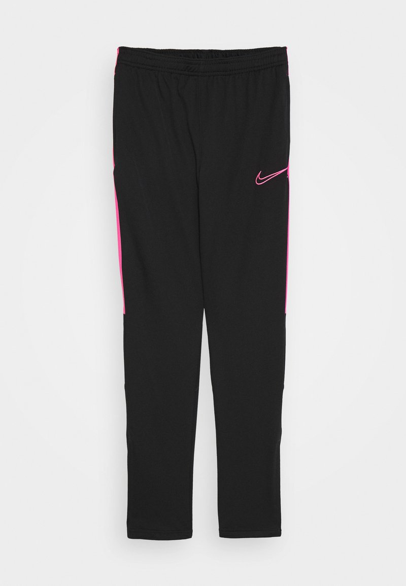 Nike Performance - DRY - Tracksuit bottoms - black/hyper pink
