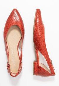 Marco Tozzi - Ballerina's met enkelbandjes - scarlet - 3