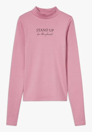 TEENS SAVE THE PLANET - Long sleeved top - mauve original
