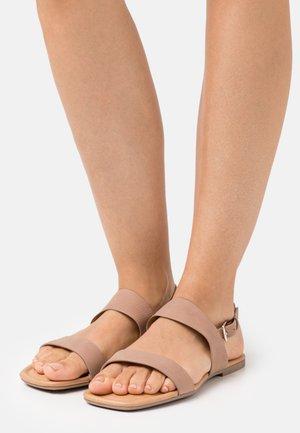 KESIA - Sandals - dark beige