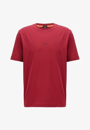 TCHUP - Basic T-shirt - dark red