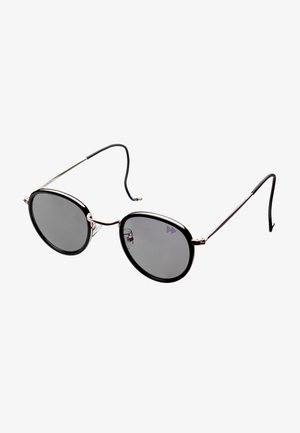 Sunglasses - light gold with black