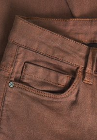 Kaffe - KAVICKY - Slim fit jeans - brown - 2
