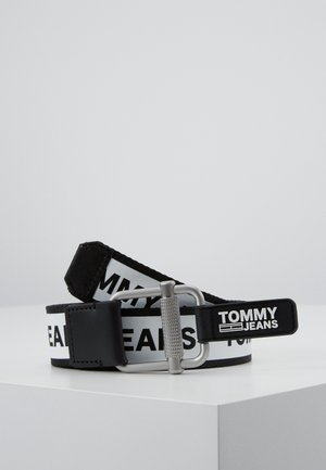 LOGO TAPE BELT - Belt - black
