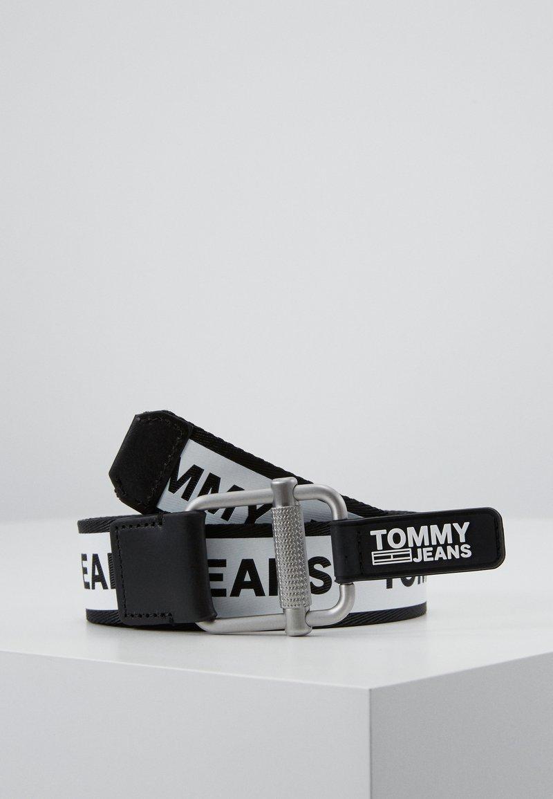 Tommy Jeans - LOGO TAPE BELT - Vyö - black