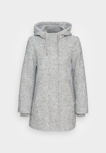 HOODY - Classic coat - light grey