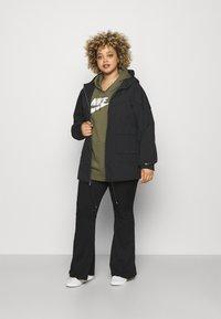 Nike Sportswear - Summer jacket - black/dark smoke grey - 1