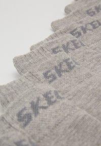 Skechers Performance - BASIC QUARTER VENTILATION 8 PACK - Socks - light grey melange - 2