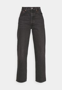 Levi's® - RIBCAGE STRAIGHT ANKLE - Jeans straight leg - black denim - 4