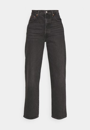 RIBCAGE STRAIGHT ANKLE - Straight leg jeans - black denim