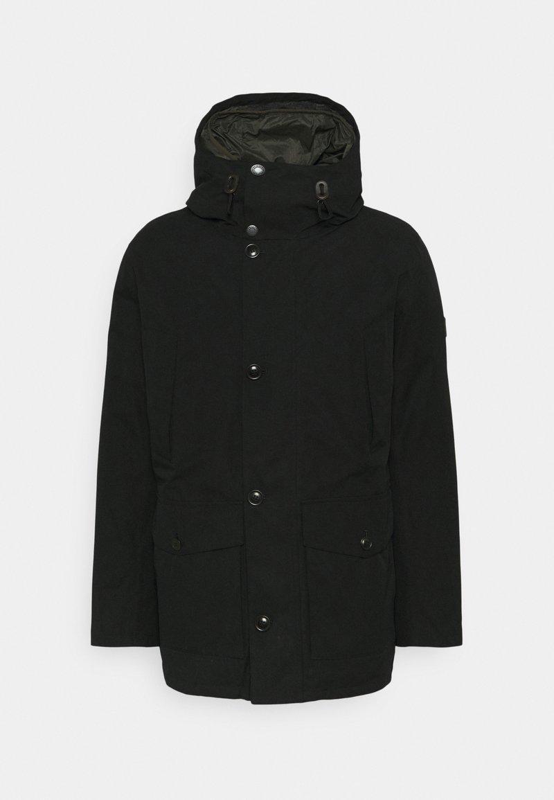 Barbour - ARCTIC JACKET - Zimní kabát - black